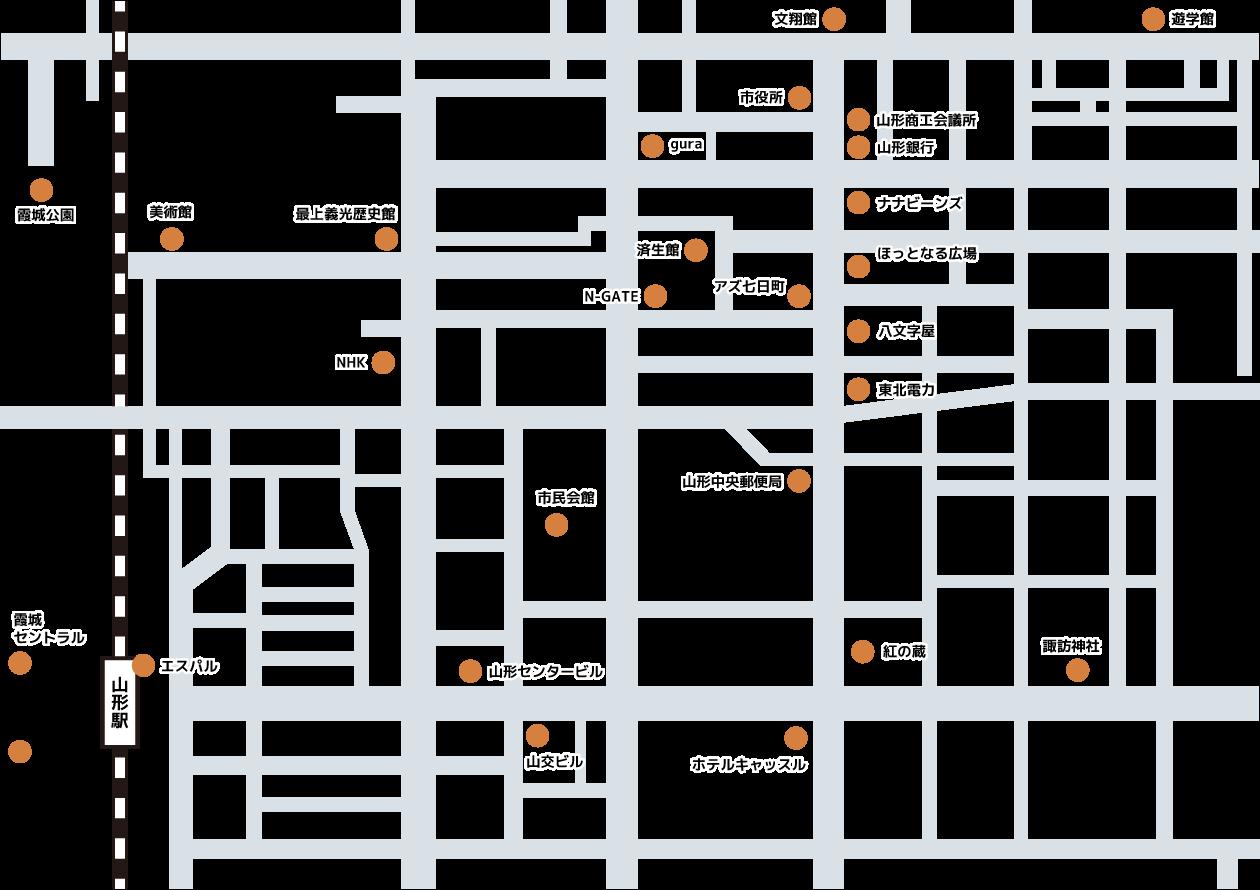 街なかマップ